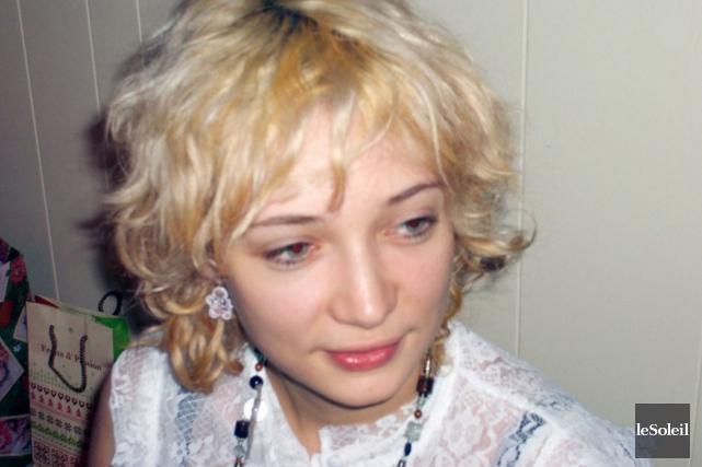 Marylin Bergeron... (Photothèque Le Soleil)