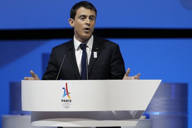 Le premier ministre français Manuel Valls lors de... (PHOTO FRANÇOIS GUILLOT, AFP)