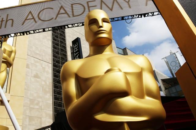 Les statuettes de la prochaine soirée des Oscars seront inspirées de celles qui... (Photo Matt Sayles, Invision/ ArchivesAP)