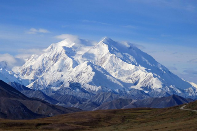 Le Denali, la plus haute montagne en Amérique... (PHOTO AP)