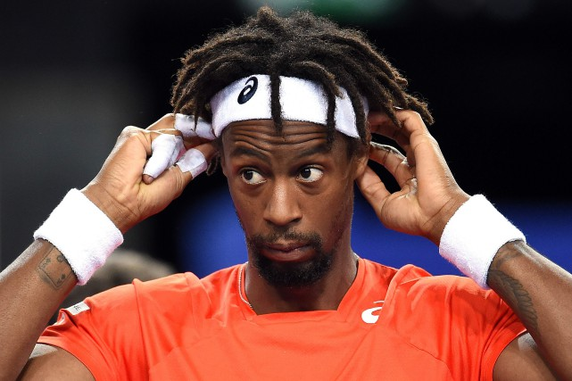 Gaël Monfils... (PHOTO ARCHIVES AFP)