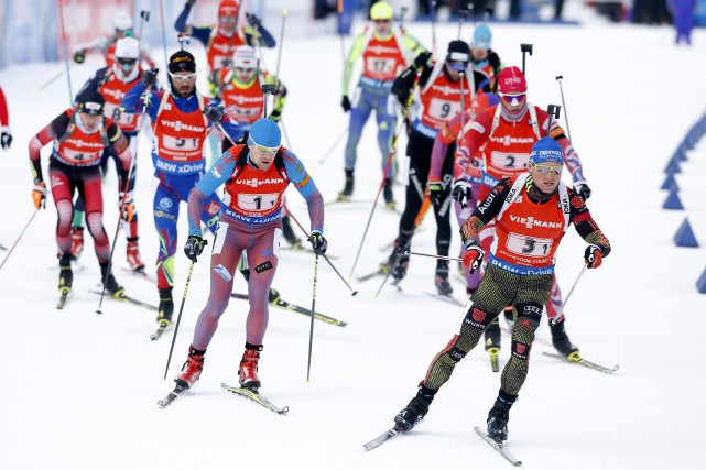 Le président de l'Union internationale de biathlon (UBI), Anders Besseberg, a... (Photo Robert F. Bukaty, AP)