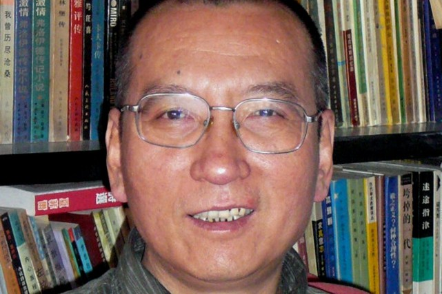 Liu Xiaobo... (PHOTO ARCHIVES AP/Kyodo News)