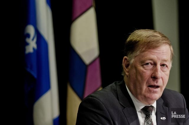 Le maire de Laval, Marc Demers... (PHOTO MARCO CAMPANOZZI, ARCHIVES LA PRESSE)