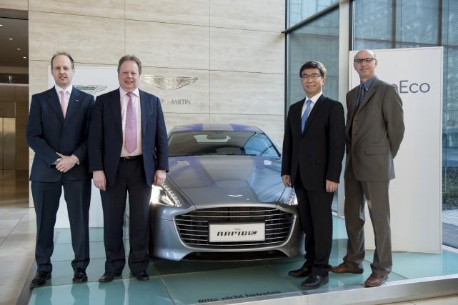 «Aston Martin veut développer une série de modèles... (Photo Salome Roessler, AP/ASTON MARTIN)
