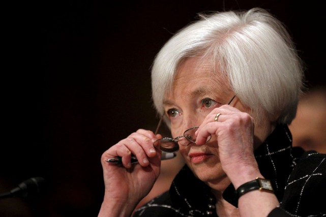 La présidente de la Fed, Janet Yellen.... (PHOTO archives REUTERS)