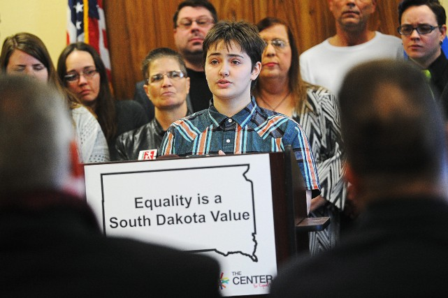 Si le gouverneur signe la loi, le Dakota... (PHOTO JOE AHLQUIST, ARGUS, VIA ASSOCIATED PRESS)