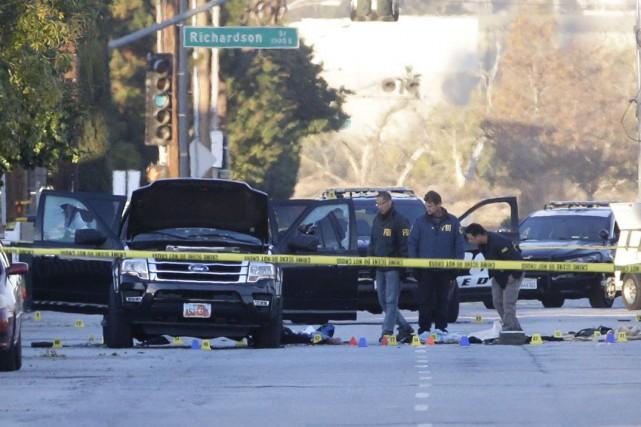 La tuerie de San Bernardinoavait fait 14 morts... (AP, Jae C. Hong)