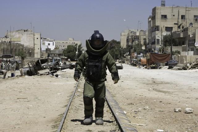 Jeffrey Sarver, un expert de neutralisation des bombes,... (fournie par Summit/Equinoxe Films)