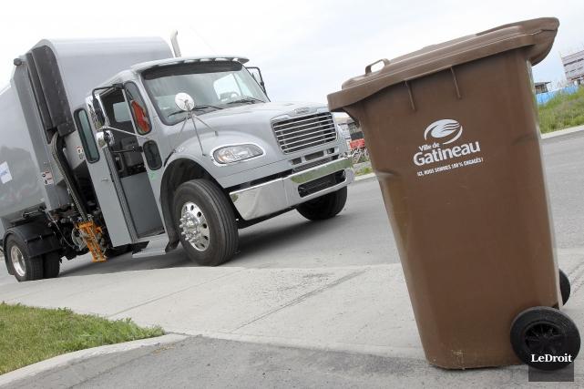 Le taux de compostage des familles outaouaises a... (Etienne Ranger, Archives LeDroit)