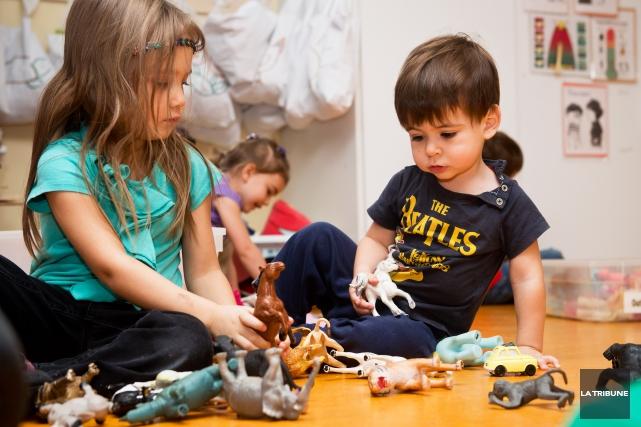 Des centres de la petite enfance (CPE) de... (Photo d'archives, La Tribune)
