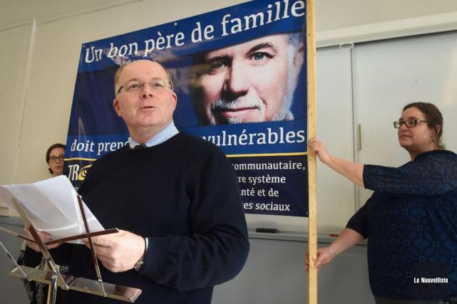 Renaud Beaudry, coordonnateur de la TROC.... (François Gervais, Le Nouvelliste)