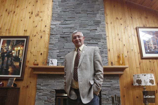 Le maire de Val-des-Monts, Jacques Laurin... (Etienne Ranger, LeDroit)