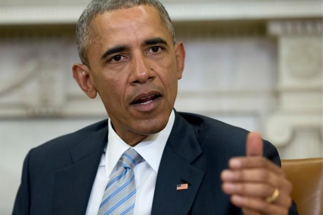 Ce déplacement historique deBarack Obama illustrera de manière... (AP, Carolyn Kaster)