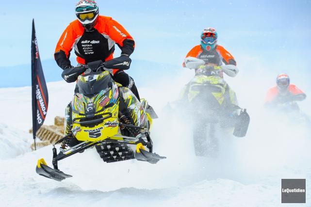 La Zone portuaire de Chicoutimi sera l'hôte d'une compétition de snowcross... (Archives Le Quotidien, Gimmy Desbiens)