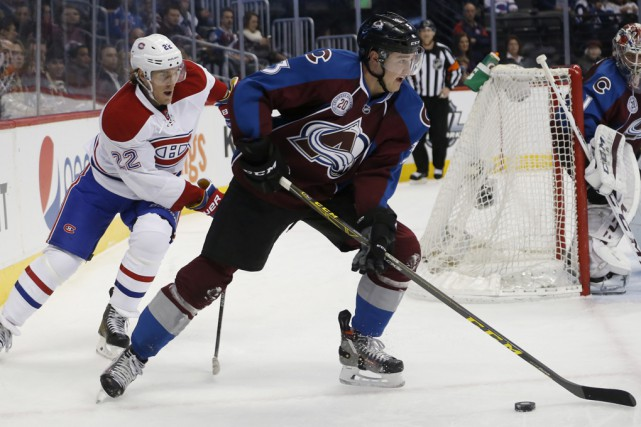 Le Canadien s'est incliné 3-2 devant l'Avalanche, hier... (Associated Press)