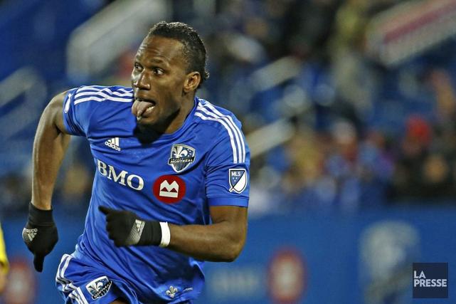 L'Impact craignait de voir Drogba quitter Montréal pour... (Olivier Jean, Archives La Presse)