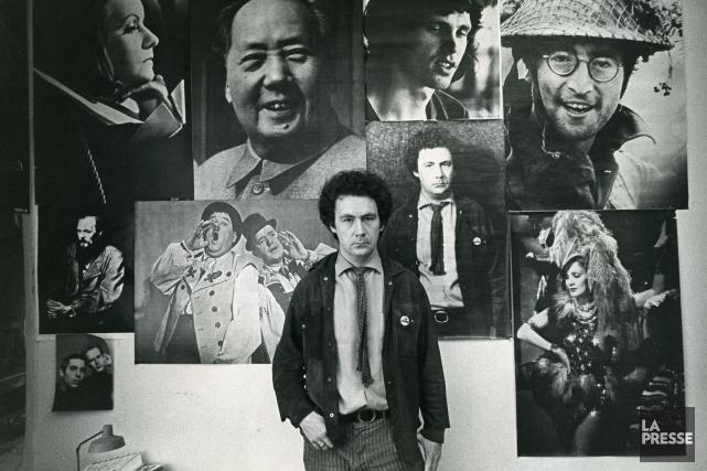 Claude Jutra, vers 1970.... (PHOTO ARCHIVES LA PRESSE)