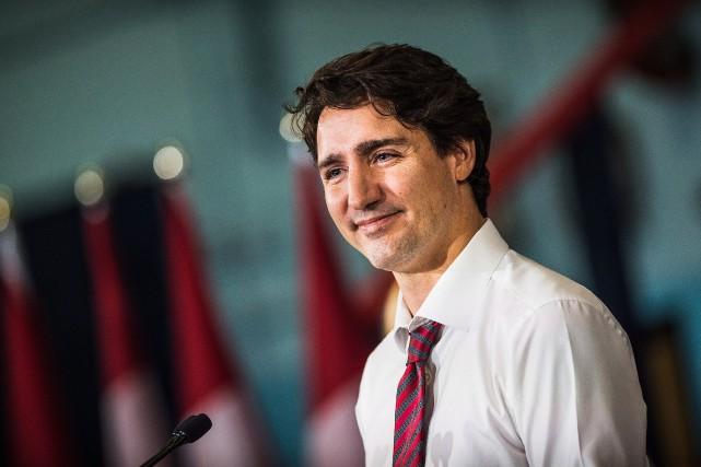 Justin Trudeau, premier ministre du Canada... (Photo Aaron Vincent Elkaim, archives La Presse Canadienne)