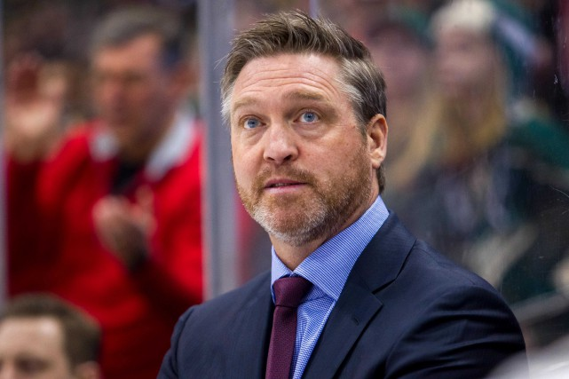 Patrick Roy n'a jamais disputé de match depuis... (Photo Brad Rempel, archives USA TODAY Sports)