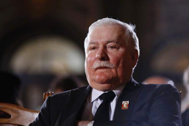 L'ancien président polonais, qui se trouve au Venezuela,... (PHOTO MARKUS SCHREIBER, ARCHIVES AFP)