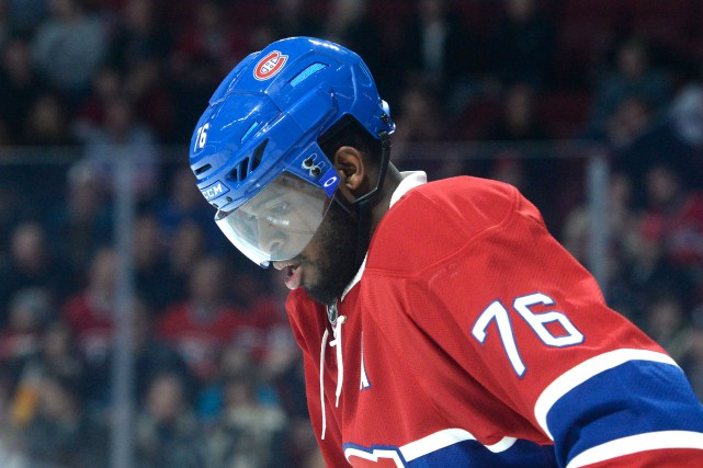 P.K. Subban est une figure polarisatrice comme on en... (PHOTO BERNARD BRAULT, LA PRESSE)