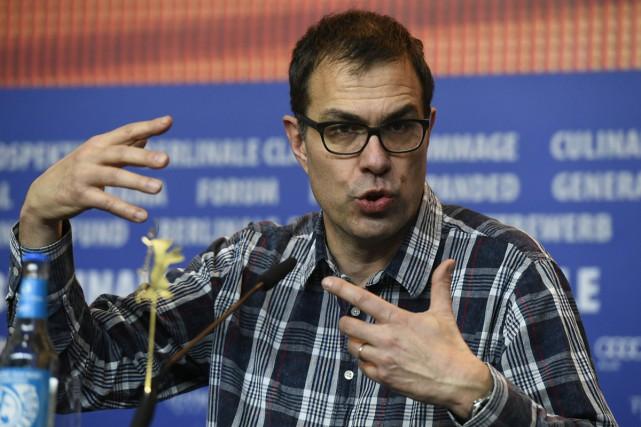 Le réalisateur Dominik Moll en conférence de presse... (PHOTO AFP)