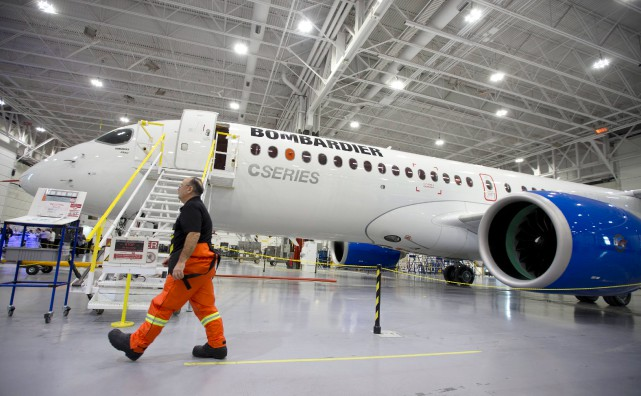 Le fabricant Bombardier pourrait recevoir une aide allant jusqu'à 1 milliardde... (PhotoChristinne Muschi, archives Reuters)