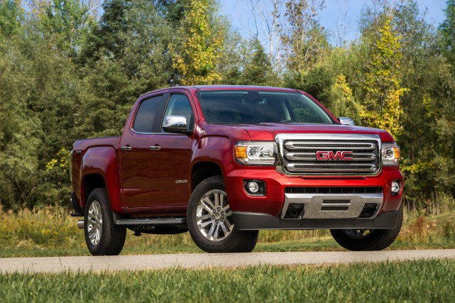 GMC Canyon diesel 2016... (PHOTO FOURNIE PAR GENERAL MOTORS)