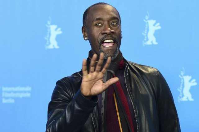 Don Cheadle... (PHOTO AFP)