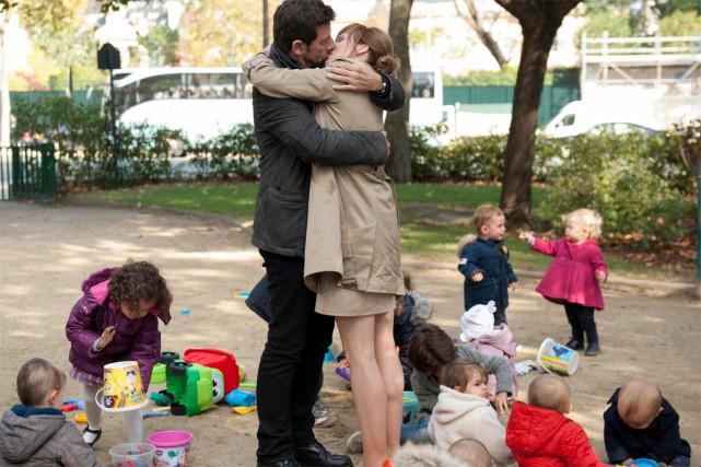 Dans la comédie romantique Ange et Gabrielle, Patrick Brueldonne la... (PHOTO AZ FILMS)