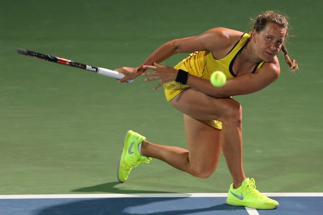 Barbora Strycova... (Photo Kamran Jebreili, AP)