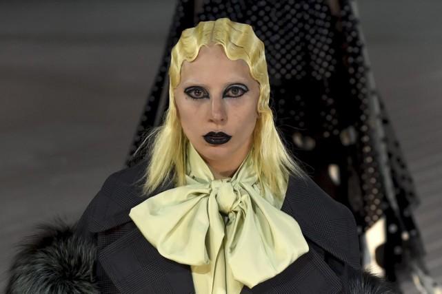 Lady Gaga... (AFP, Timothy A. Clary)