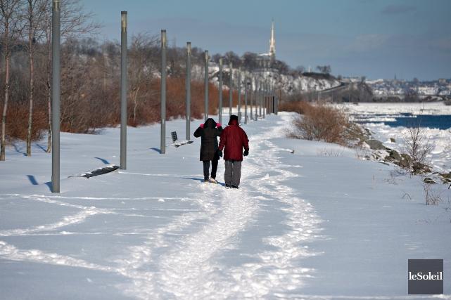 La promenade Samuel-De Champlain est le legs du... (Le Soleil, Patrice Laroche)