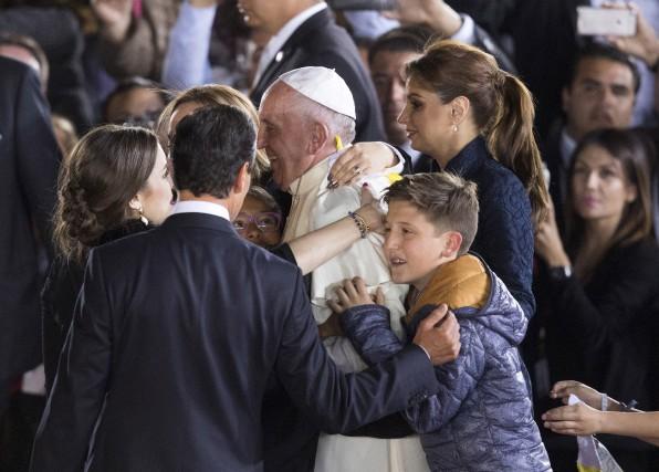 Le pape François a terminé mercredi son voyage... (AP, Ivan Pierre Aguirre)