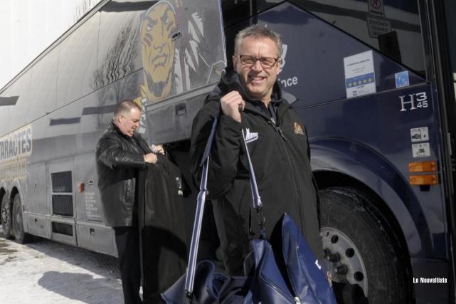 Claude Bouchard est devenu jeudi le conducteur des... (Sylvain Mayer, Le Nouvelliste)