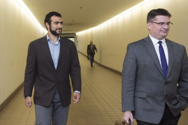 L'ancien détenu de la prison de Guantanamo Omar... (Archives La Presse Canadienne)