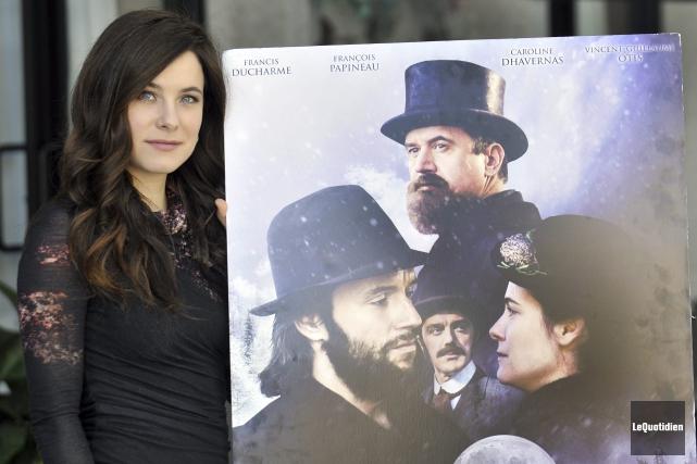 La comédienne Caroline Dhavernas campe le rôle de... (Photo Le Quotidien, Rocket Lavoie)