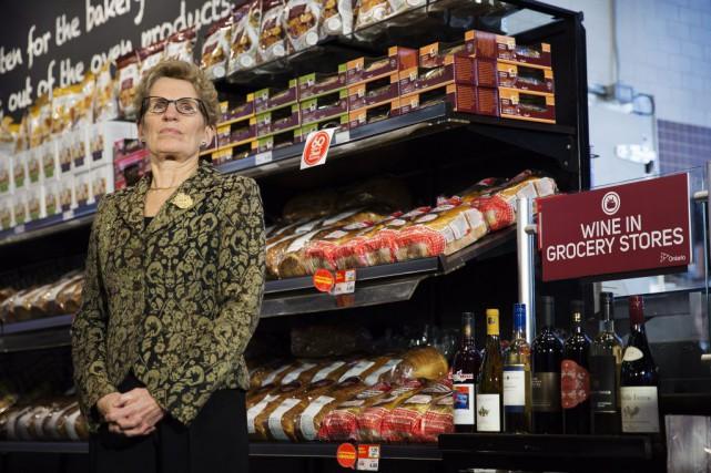 La première ministre de l'Ontario, Kathleen Wynne, a... (Michelle Siu, PC)