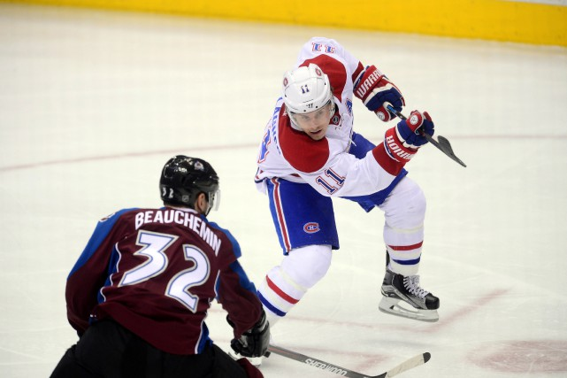 Le Canadien a perdu un troisième match de... (PHOTO RON CHENOY, USA TODAY SPORTS)