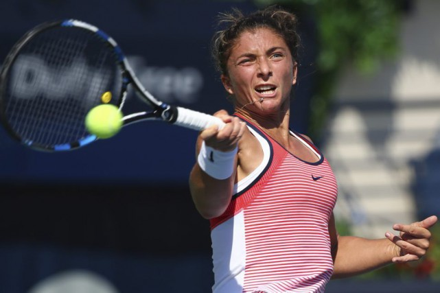 Sara Errani... (PHOTO MARWAN NAAMANI, AFP)