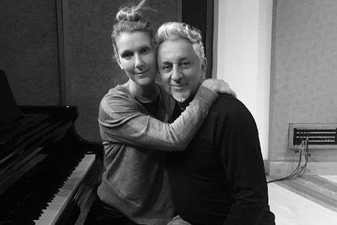 La chanteuse Céline Dion et le producteur Humberto... (IMAGE TIRÉE DU COMPTE INSTAGRAM D'HHUMBERTO GATICA)