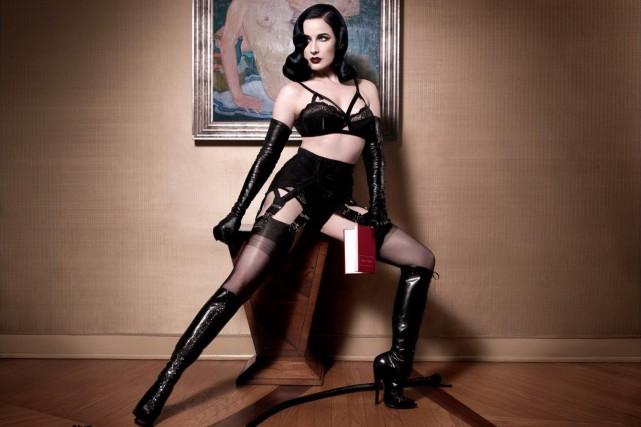 L'icône burlesque Dita Von Teese défend un glamour... (PHOTO FOURNIE PAR LA PRODUCTION)
