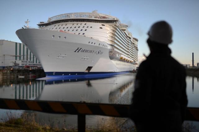 Des essais en mer, du 10 au 13... (PHOTO AFP)