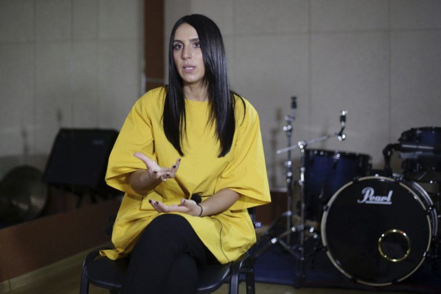 La chanteuse ukrainienne Jamala... (PHOTO AFP)