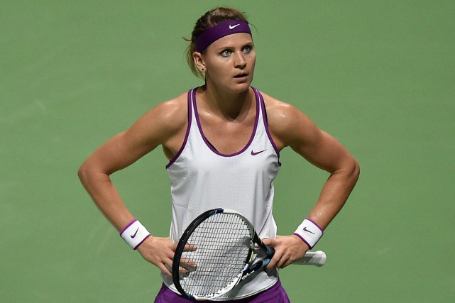 Lucie Safarova... (PHOTO MOHD FYROL, ARCHIVES AFP)