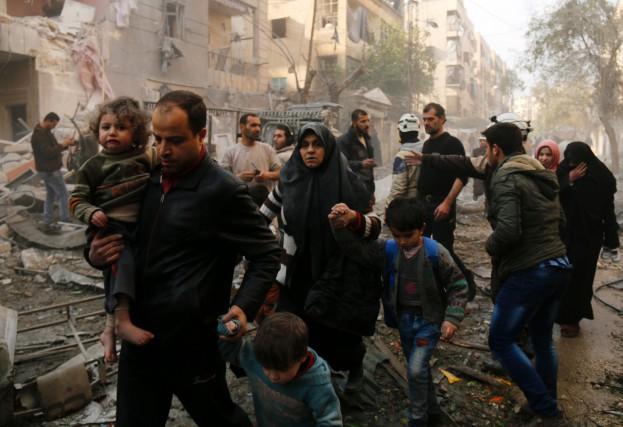 Tous ceux qui ont pu quitter Alep sont... (PhotoARAM AL-MASRI, Agence France-Presse)