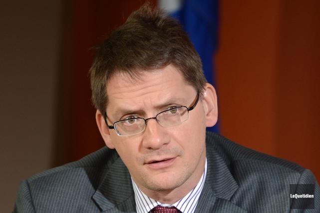 Le député de Jonquière Sylvain Gaudreault.... (Archives Le Quotidien)