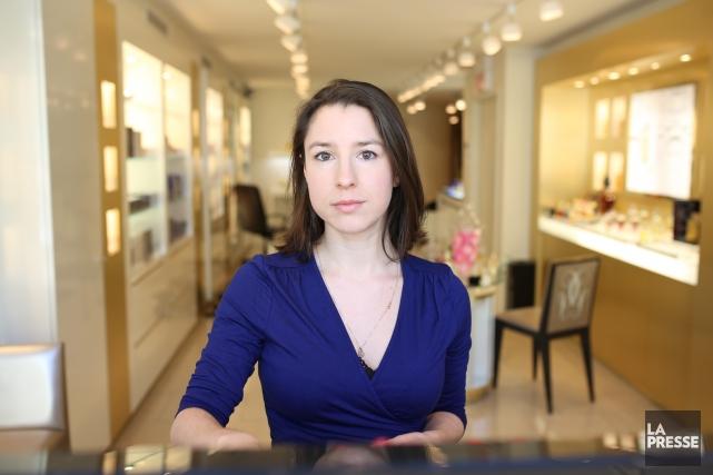 Perrine Leblanc est au nombre des auteurs qui... (PHOTO MARTIN CHAMBERLAND, LA PRESSE)