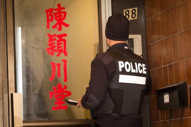 «Les policiers québécois bénéficient d'une très solide formation,... (PHOTO IVANOH DEMERS, ARCHIVES LA PRESSE)